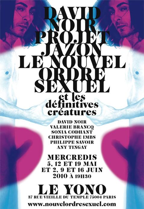 Projet Jazon - Performance de David Noir - Flyer Filifox - Philippe Savoir