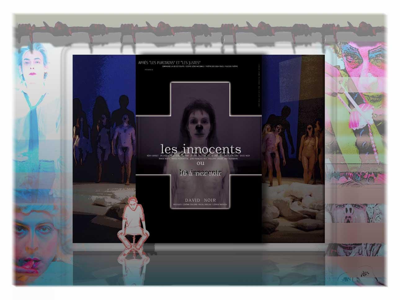 """""""Les Innocents"""" de David Noir, avec la cie La Vie Est Courte"""