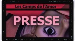 """Parutions à propos des """"Camps de l'Amor"""" au Générateur"""