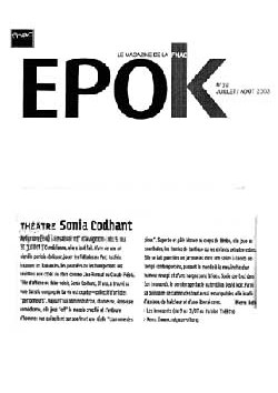 epok - Sonia Codhant - Les Innocents de David Noir