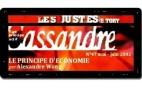 Cassandre - Les Justes-Story de David Noir