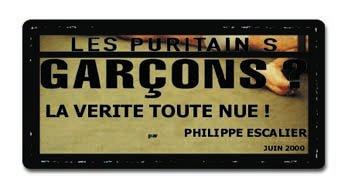 Garçons - Les Puritains de David Noir