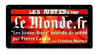 Le Monde.fr - Les Justes-Story de David Noir interdit de scène par Pierre Cardin