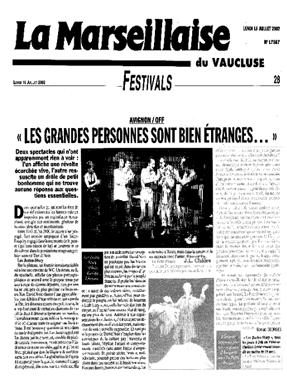 La Marseillaise - Les Justes-Story de David Noir