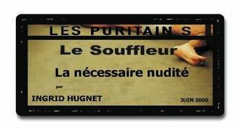 Le Souffleur - Les Puritains de David Noir